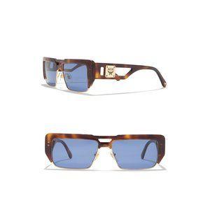 NWT Nordstrom MCM 56mm Navigator Blue Sunglasses